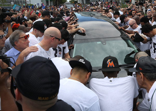 Jeffrey Loria and Marlins mourn Jose Fernandez